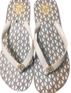 Tory Burch Off White Sandals