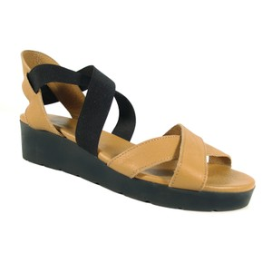 Arche French Wedge Strappy Tan Sandals