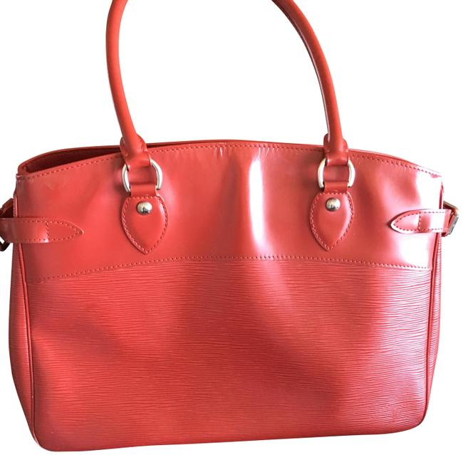 Item - Bum Hand Red Epi Leather Weekend/Travel Bag