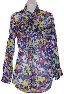 Adam Lippes Top Floral