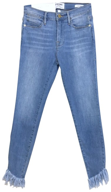 Item - Blue Distressed Le High Skinny Jeans Size 0 (XS, 25)