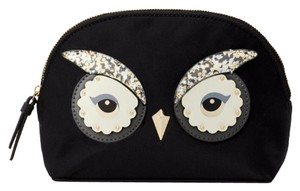 Kate Spade Kate Spade Owl Marcy Star Bright Cosmetic Case travel pouch bag small
