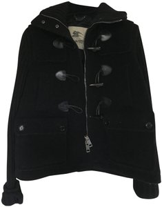 Burberry Toggle Wool Military Jacket