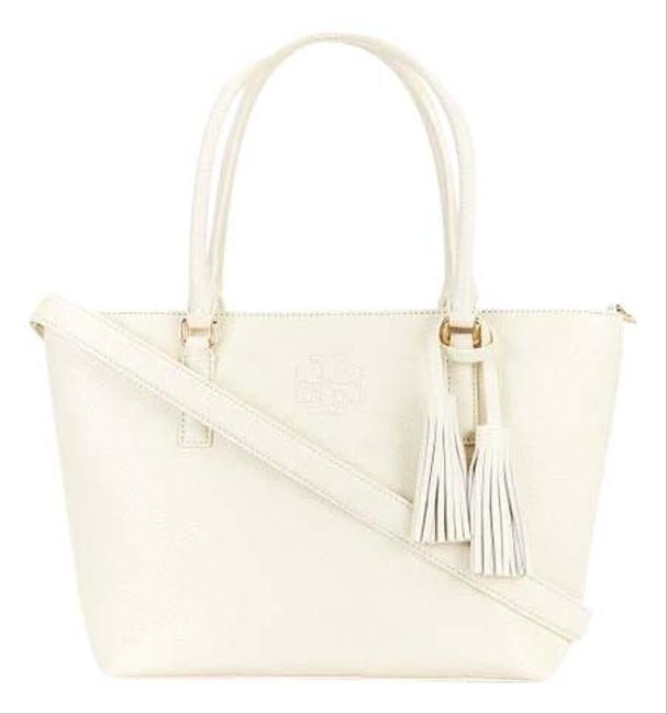 Item - Thea New Small Convertible Ivory Leather Tote