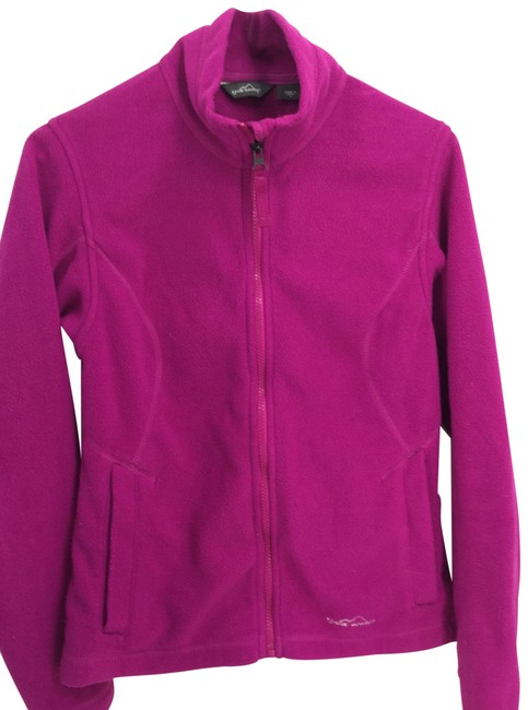 Item - Purple/Plum Full Zip Fleece Jacket Activewear Size 4 (S)