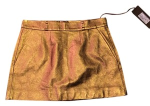 Gucci Skirt Gold