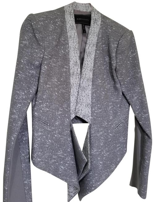 Item - Gray and White Favorite Everyday Wear Blazer Size 2 (XS)