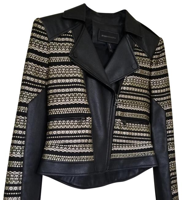 Item - Black and Gold Winter Dominance Jacket Size 2 (XS)