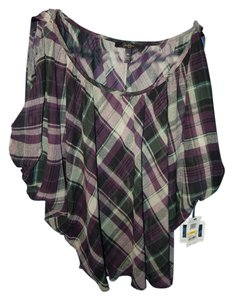 Jessica Simpson Top Plum combo