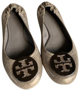 Tory Burch Silver Wedges