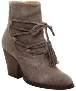 Matiko Taupe Suede Boots