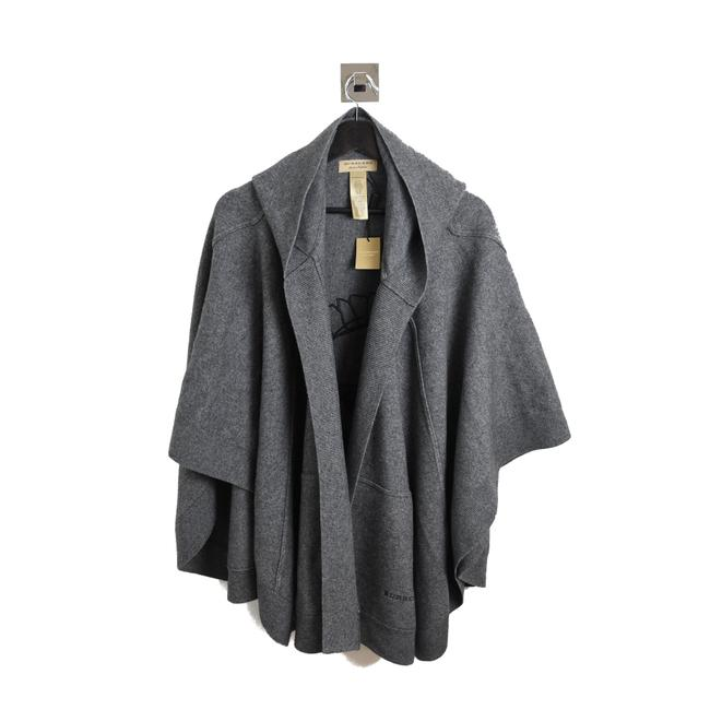 Item - Grey Henry Moore Knitted Wool Cashmere Mid Poncho/Cape Size OS (one size)