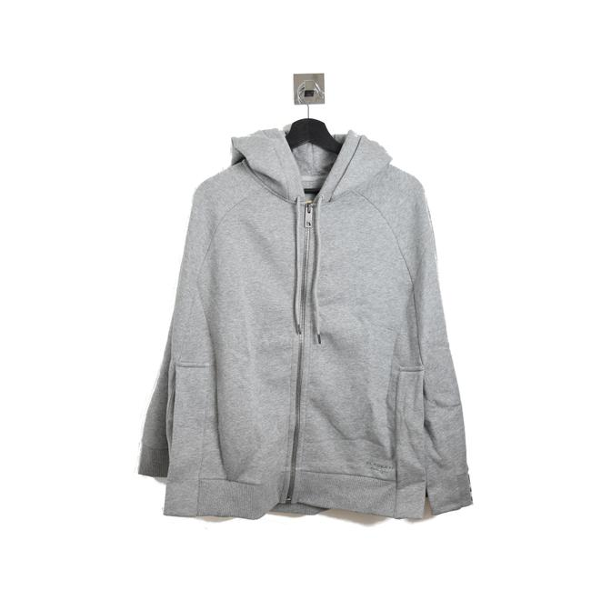 Item - Gray Sweater with Hoodie Poncho/Cape Size OS (one size)