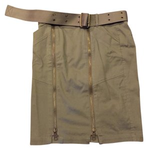 Burberry Brit Skirt Khaki/Green