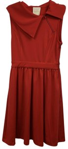 Modcloth short dress Red Trolley Retro Tour on Tradesy