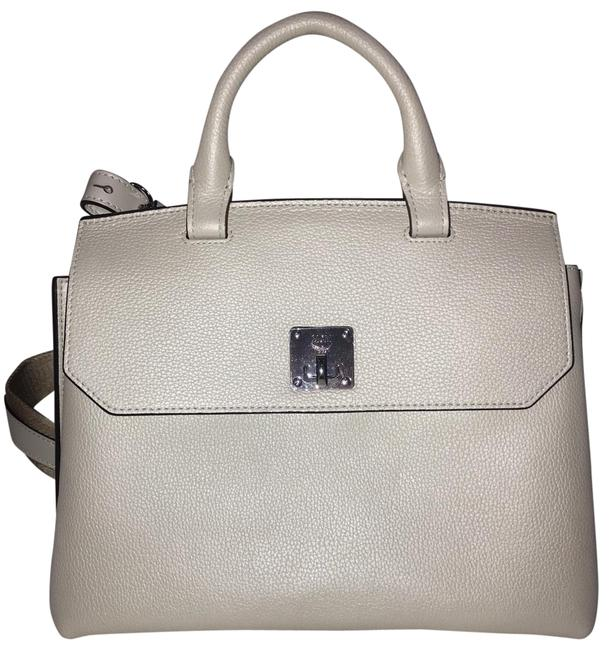 Item - Milla Convertible Satchel White Flake Leather Backpack