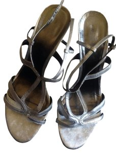 Faonnable Silver Sandals