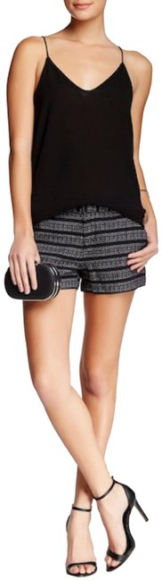 Item - Black Merci Steel Porcelain Tweed New with Tags Shorts Size 0 (XS, 25)