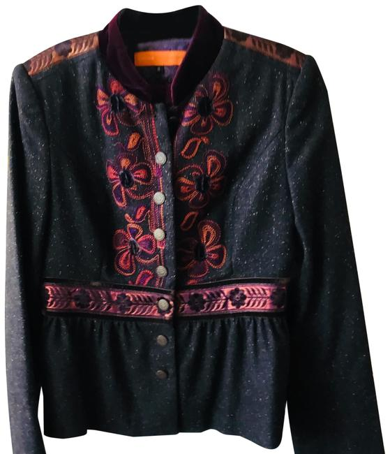 Item - Embroidered Jacket Size 8 (M)