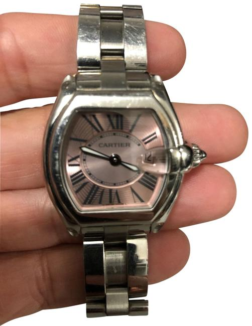 Cartier Silver Ladies Roadster Collection 8539750x 2750 Watch Cartier Silver Ladies Roadster Collection 8539750x 2750 Watch Image 1