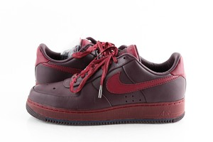 Nike Red Air Force 1 Low Supreme Mco Cb 'charles Barkley' Shoes