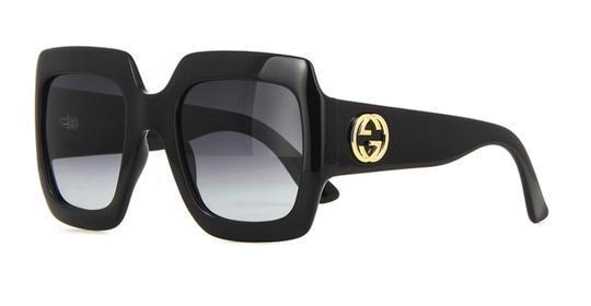 Gucci Gucci Oversized Style GG 0053S 001 - FREE 3 DAY SHIPPING - LARGE Image 9