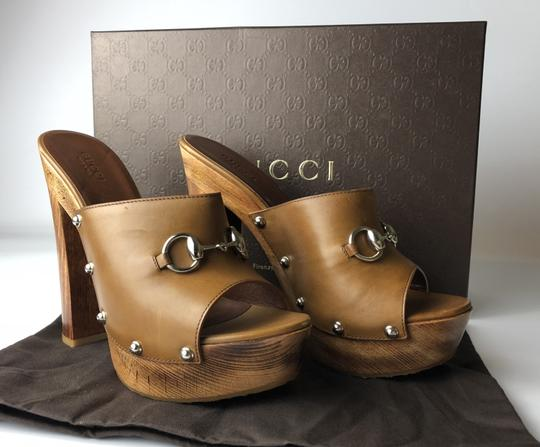 Gucci brown Wedges Image 7