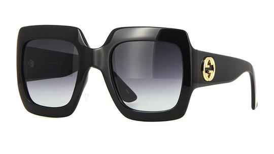 Gucci Gucci Oversized Style GG 0053S 001 - FREE 3 DAY SHIPPING - LARGE Image 1