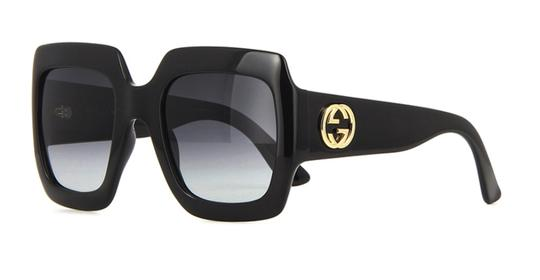Gucci Gucci Oversized Style GG 0053S 001 - FREE 3 DAY SHIPPING - LARGE Image 11