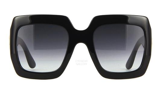 Gucci Gucci Oversized Style GG 0053S 001 - FREE 3 DAY SHIPPING - LARGE Image 4