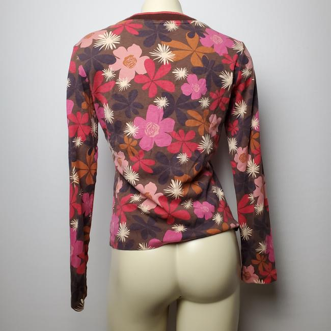 Boden Floral Button Front Cardigan Image 2