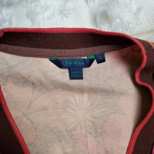 Boden Floral Button Front Cardigan Image 4