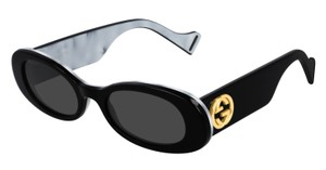 Gucci NEW Oval Style gg0517s 001 - FREE 3 DAY SHIPPING -Slim Oval Sunglasses