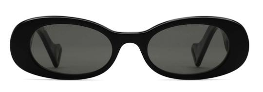 Gucci NEW Oval Style gg0517s 001 - FREE 3 DAY SHIPPING -Slim Oval Sunglasses Image 5