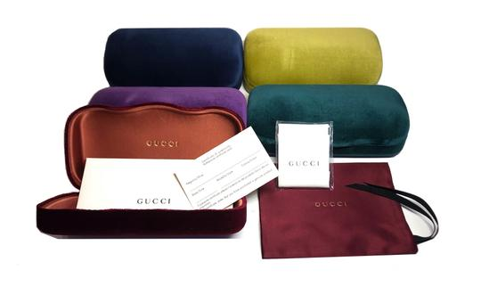 Gucci NEW Oval Style gg0517s 001 - FREE 3 DAY SHIPPING -Slim Oval Sunglasses Image 8