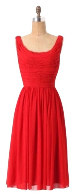 Preload https://img-static.tradesy.com/item/26149562/anthropologie-red-new-moulienette-gracia-silk-mid-length-cocktail-dress-size-2-xs-0-1-650-650.jpg