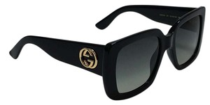 Gucci Square Style GG 0141S 001 - FREE 3 DAY SHIPPING Thick