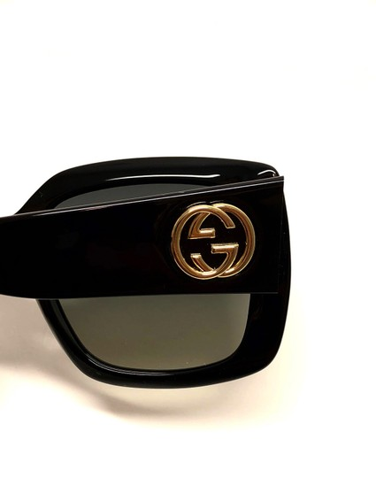 Gucci Square Style GG 0141S 001 - FREE 3 DAY SHIPPING Thick Image 8