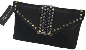 INC International Concepts Black/Gold Clutch