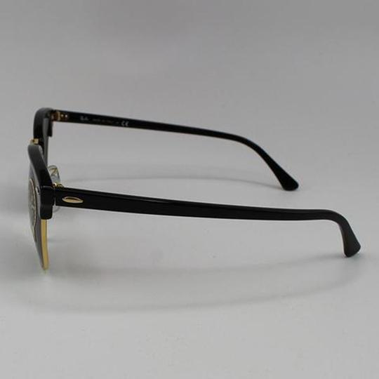 Ray-Ban Black Frame RB3016 W0365 51 Unisex Square Clubmaster Sunglasses Image 2