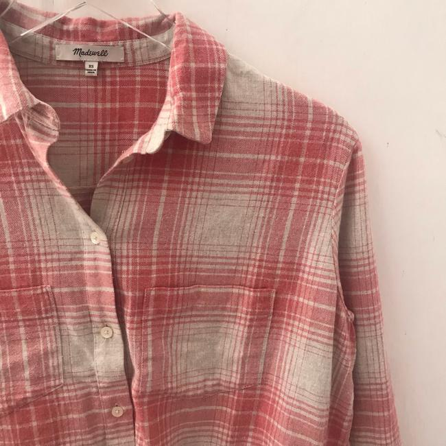 Madewell Button Down Shirt pink Image 3