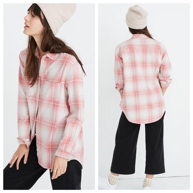 Madewell Button Down Shirt pink Image 7