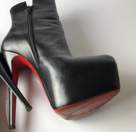 Christian Louboutin black Boots Image 8