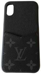 Louis Vuitton Louis Vuitton Black X/ Xs iPhone Case, Bumper in Black Monogram Canvas