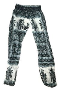 Calypso St. Barth Relaxed Pants blue and white