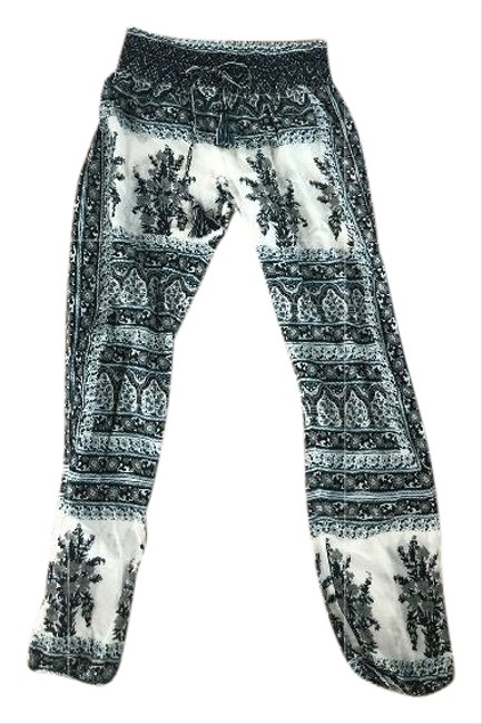 Calypso St. Barth Relaxed Pants blue and white Image 0