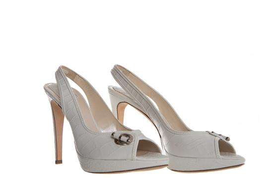 Dior White Pumps Image 4