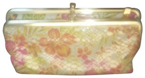 Hobo International Leather floral double clutch wallet