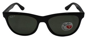 Ray-Ban Lens & Black Frame RB4184 601/9A Unisex Square Sunglasses