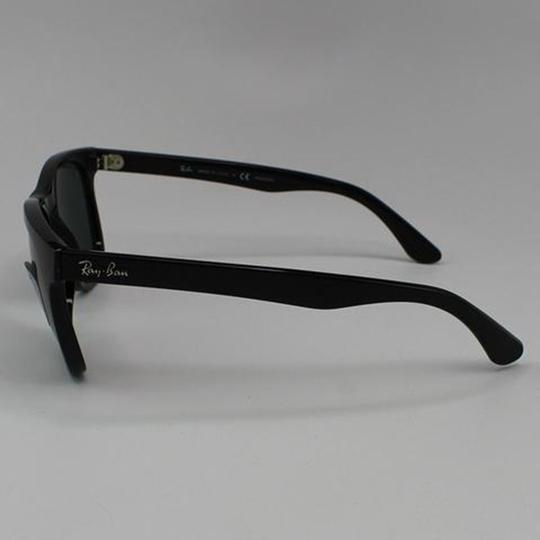Ray-Ban Lens & Black Frame RB4184 601/9A Unisex Square Sunglasses Image 2